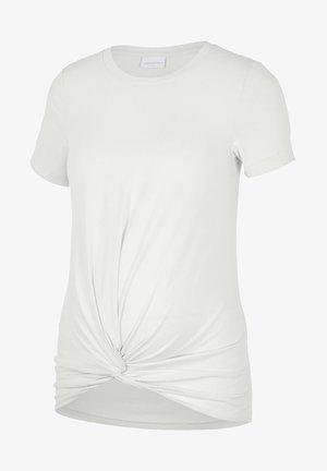 Camiseta básica - snow white