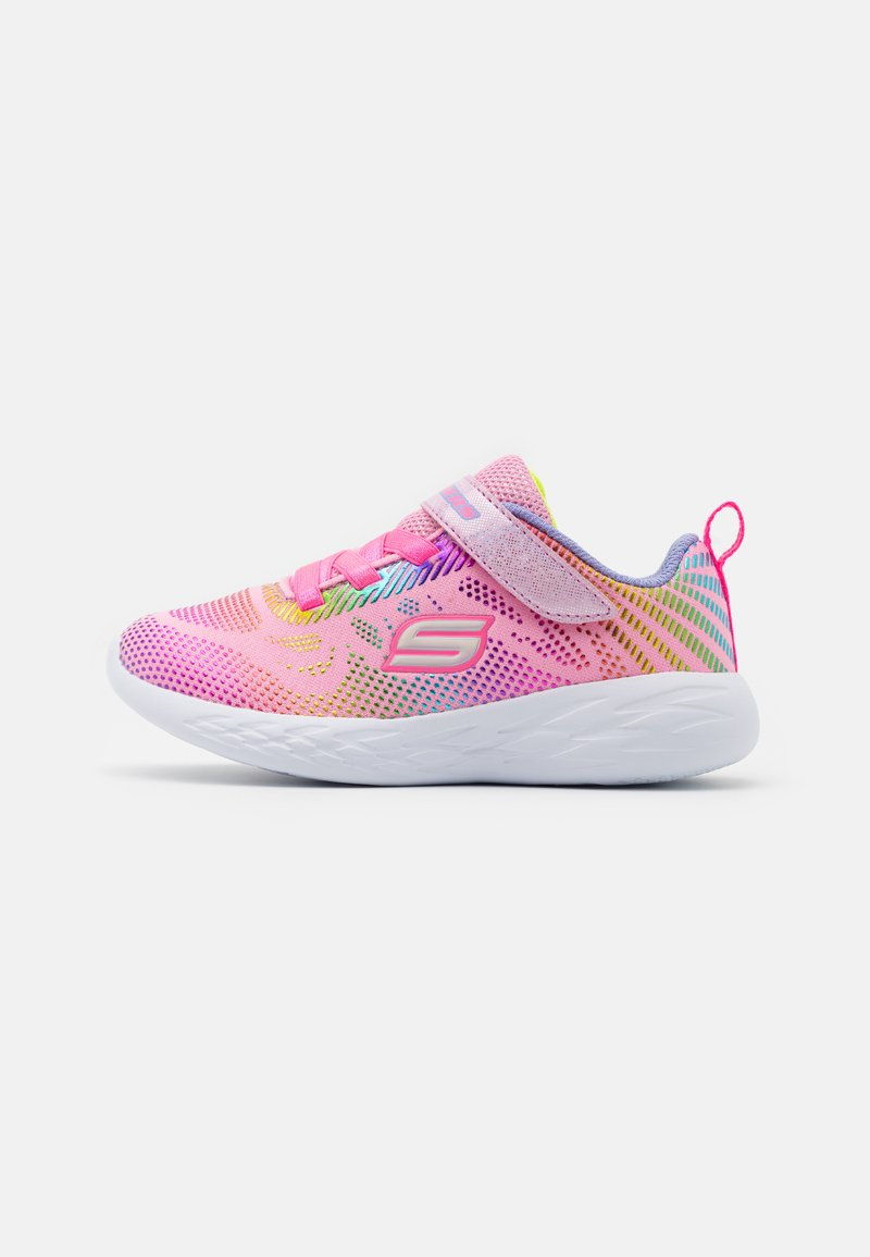 Skechers Performance - GO RUN 600 SHIMMER SPEEDER UNISEX - Chaussures de running neutres - light pink/multicolor