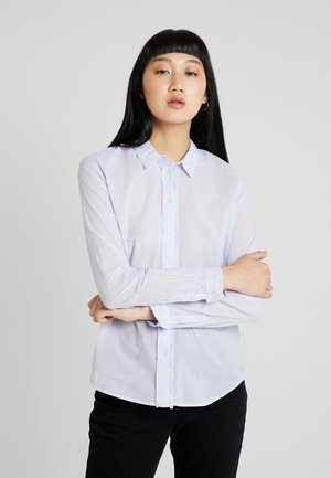 CLASSIC LONG SLEEVE - Button-down blouse - sky blue