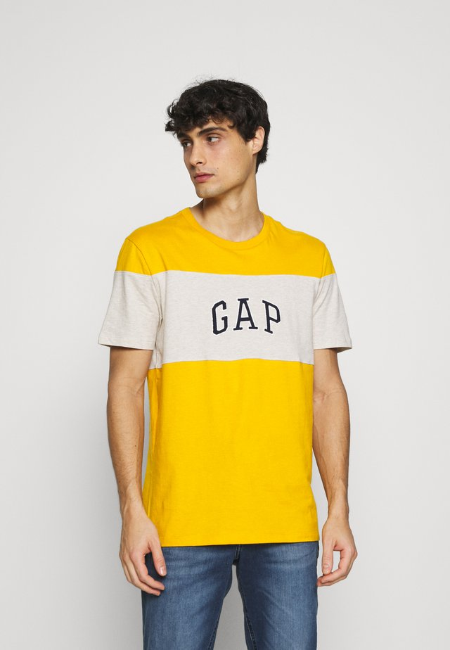 MINI ARCH - Print T-shirt - rugby gold