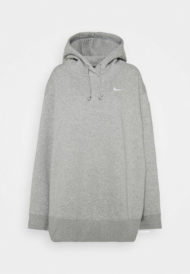 HOODIE TREND - Sweat à capuche - dark grey heather/white