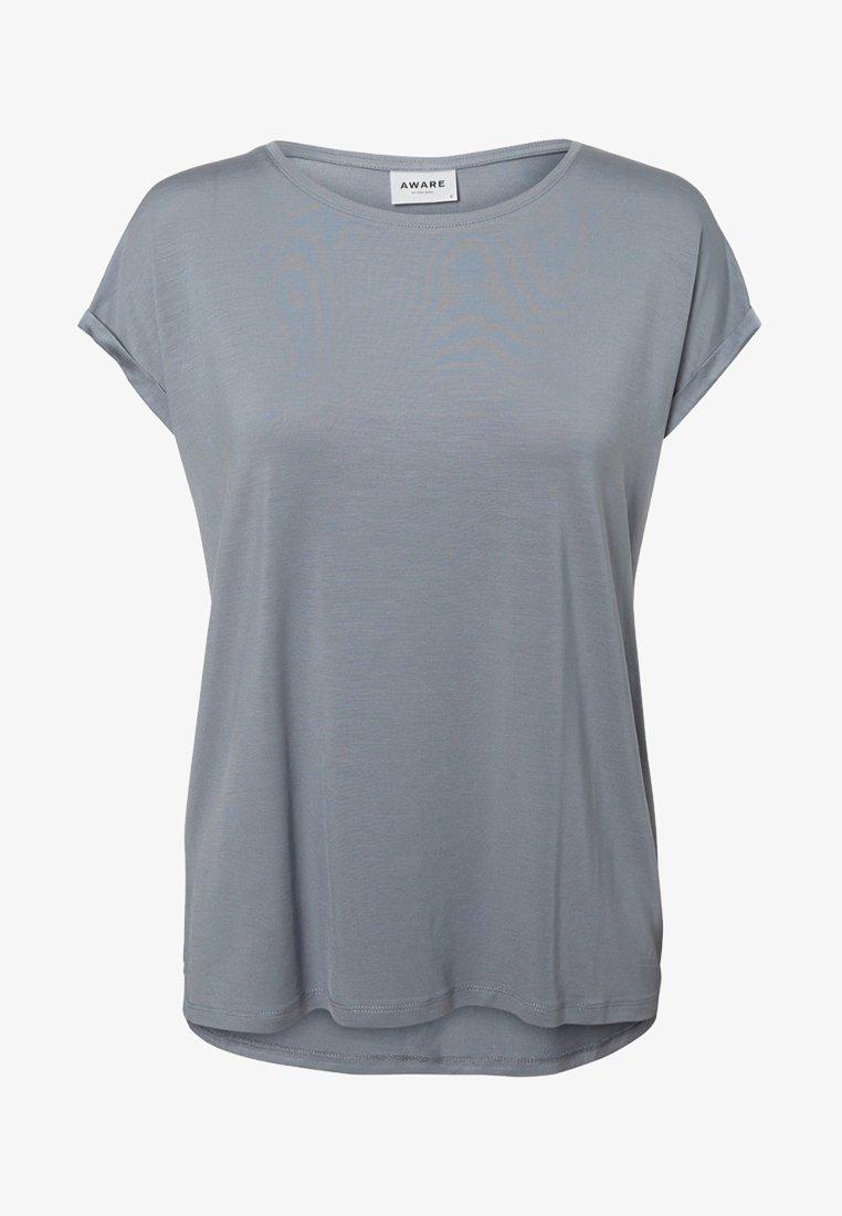 Vero Moda - VMAVA PLAIN - T-shirt basic - tradewinds