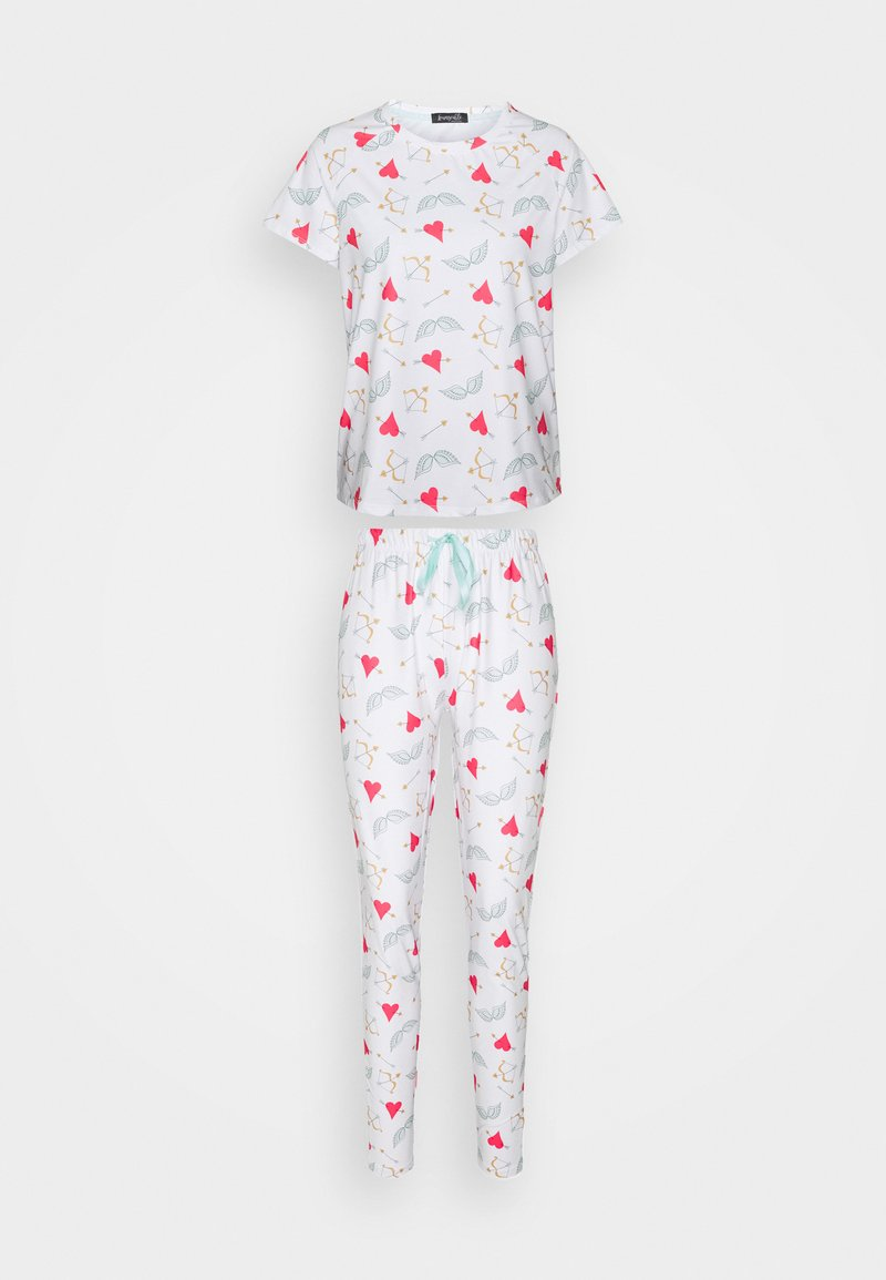 Loungeable - HEARTS & ARROWS WITH LEGGINGS - Pigiama - multi