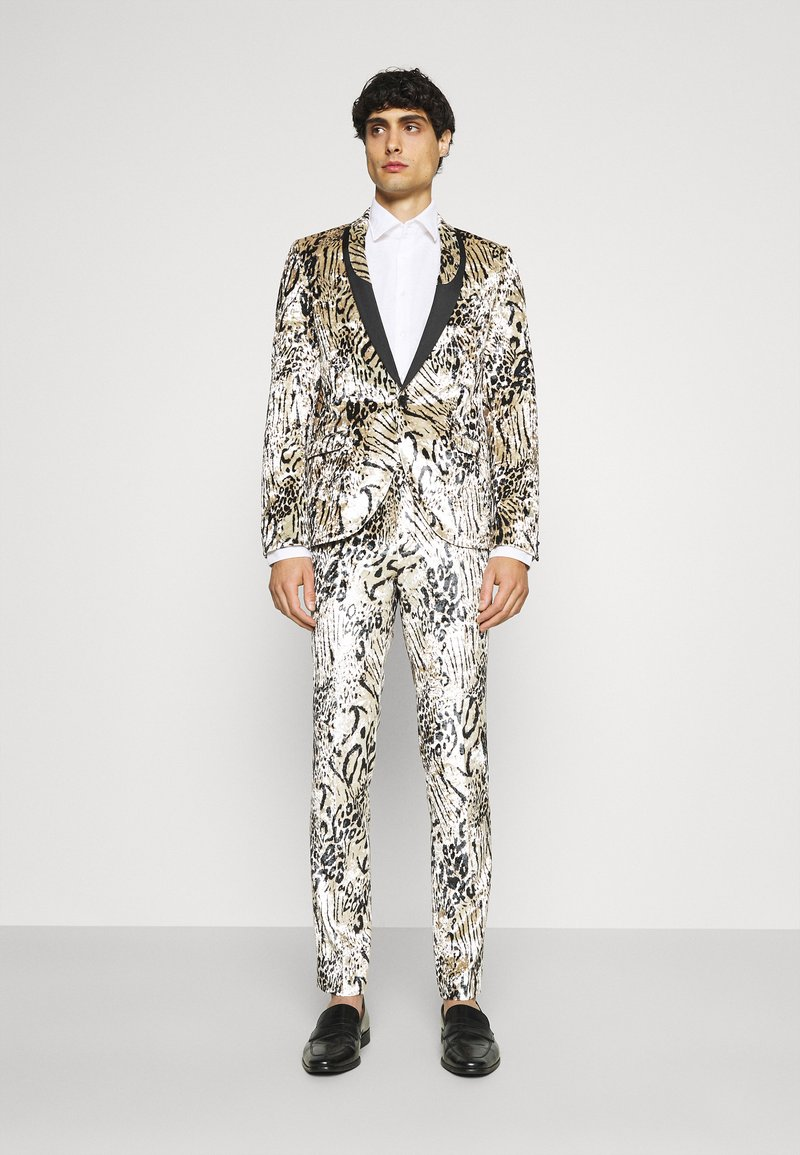 Twisted Tailor - STEELE SUIT - Suit - champagne