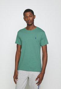Polo Ralph Lauren - CUSTOM SLIM FIT CREWNECK - Basic T-shirt - seafoam - 0