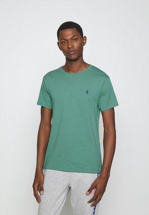 CUSTOM SLIM FIT CREWNECK - T-shirt - bas - seafoam