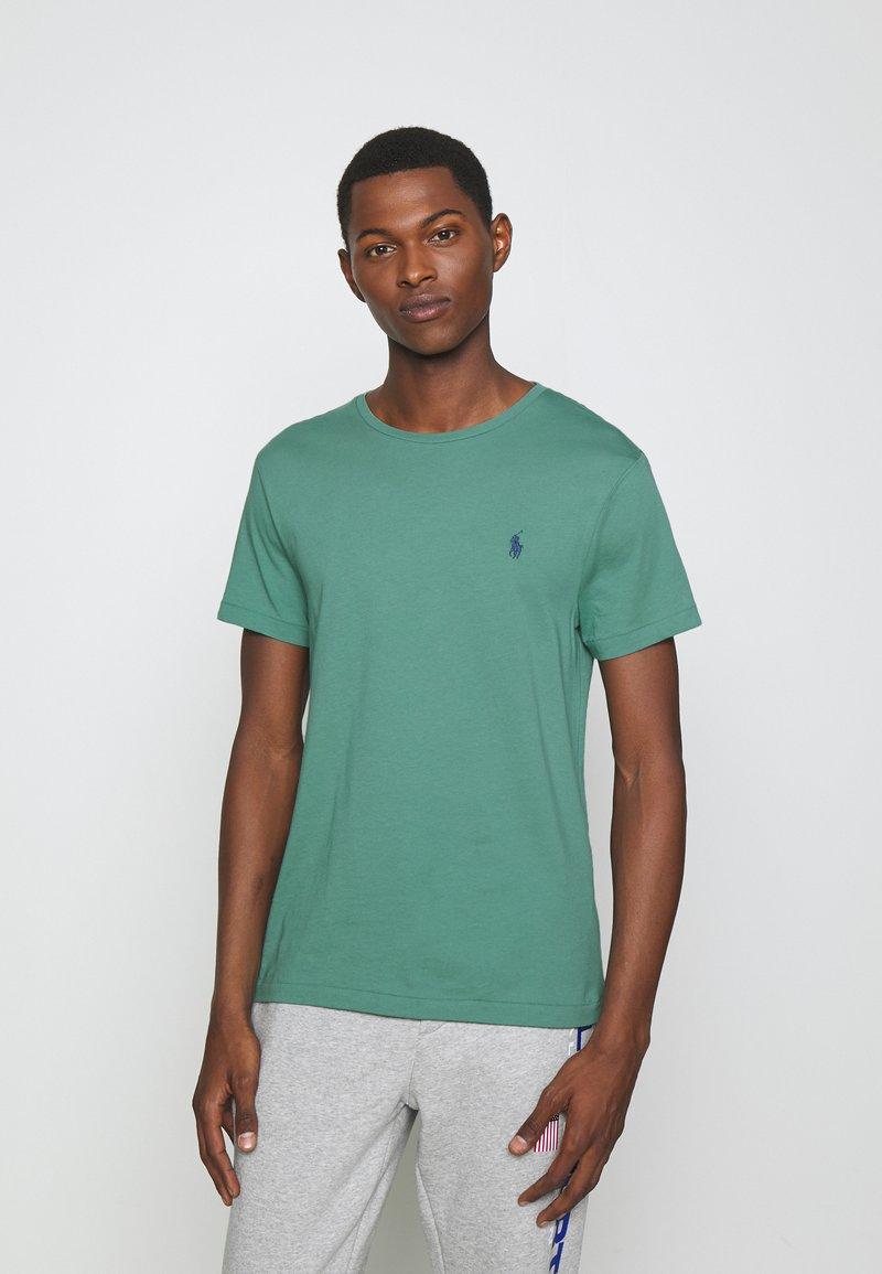 Polo Ralph Lauren - CUSTOM SLIM FIT CREWNECK - Basic T-shirt - seafoam