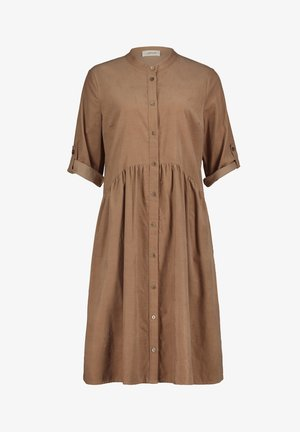 Shirt dress - dusty almond