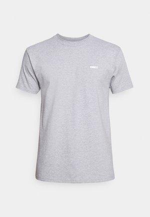 NURTURE NATURE - Camiseta estampada - heather grey