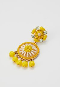 J.CREW - BEADED DROP EARRINGS - Earrings - brilliant citron - 2