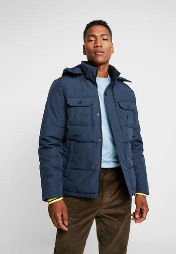 JCOWILL PUFFER - Winter jacket - navy blazer/melange