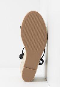 Steve Madden - SKYLIGHT - High heeled sandals - black - 6