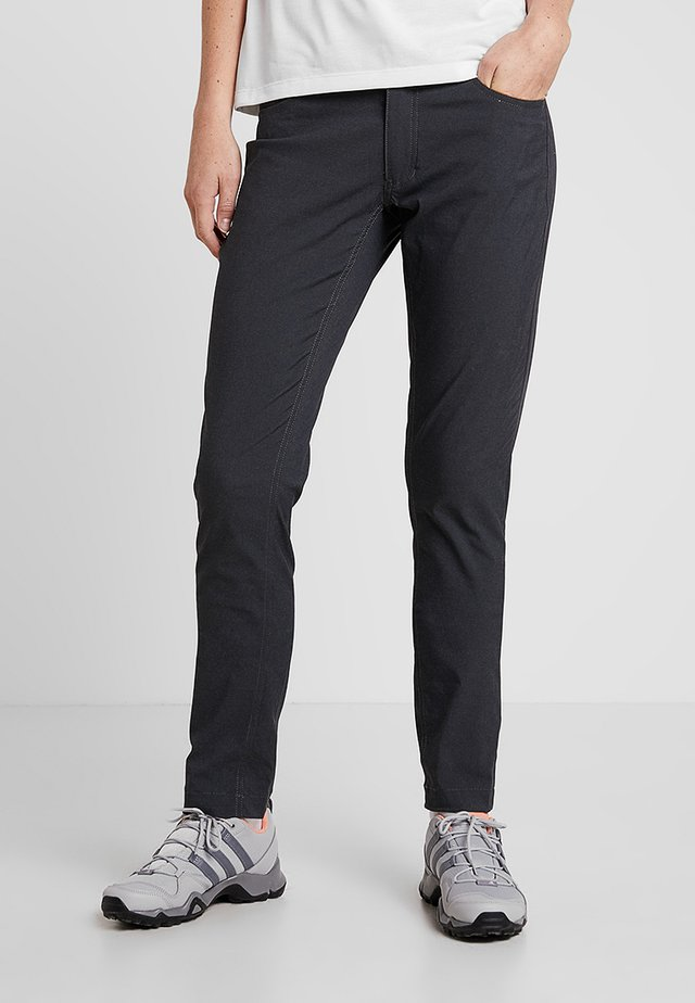WAY TO GO PANTS - Pantalones - rock black