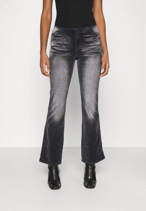 RAIA ACID TROUSER - Trousers - black/grey