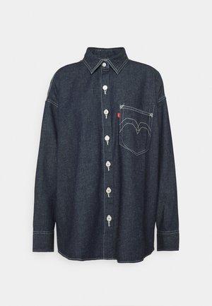 LR DENIM SHIRT 2.0 - Button-down blouse - midnight hours