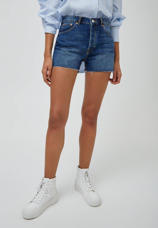 Jeans Short / cowboy shorts - dark blue