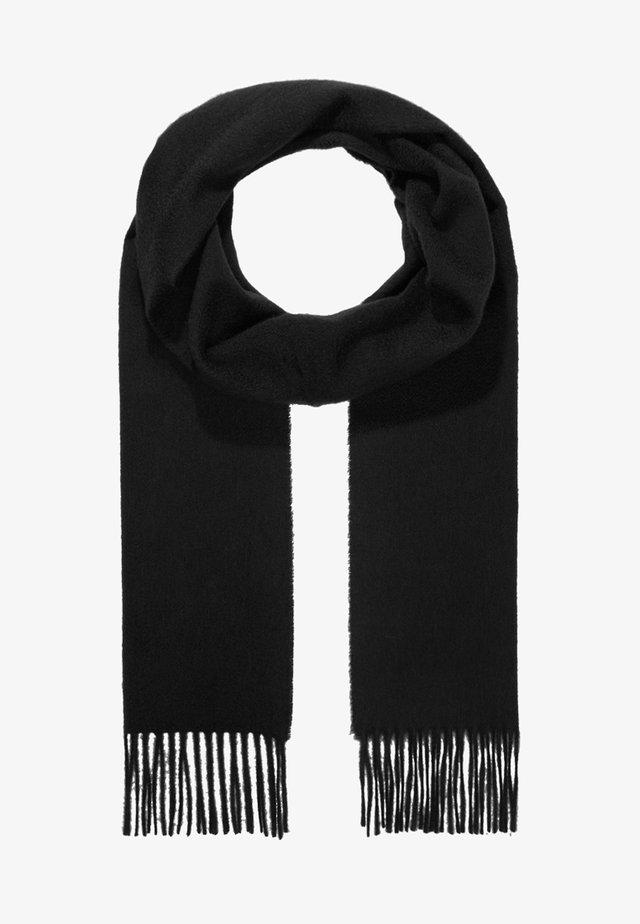 100% Cashmere Scarf UNISEX - Écharpe - black