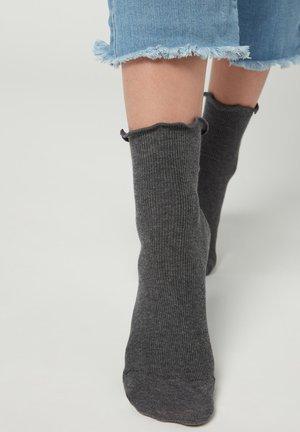Socks - antracite/guacamole