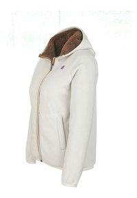 K-Way - POLAR DOUBLE - Winter jacket - white gardenia-brown - 1