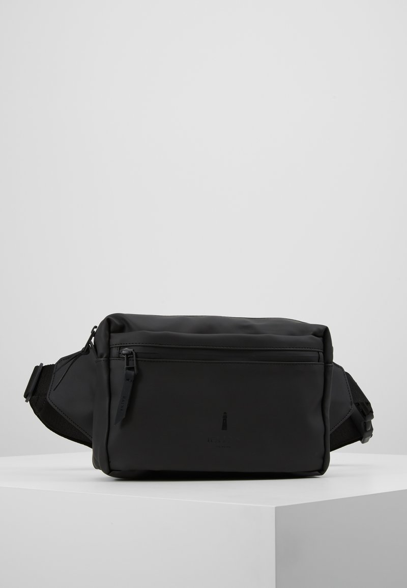 Rains - WAIST BAG - Riñonera - black