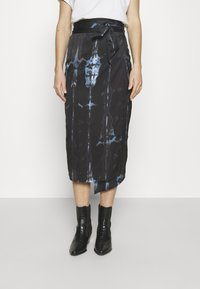 Never Fully Dressed - TIE DYE JASPRE SKIRT - Kynähame - navy - 0
