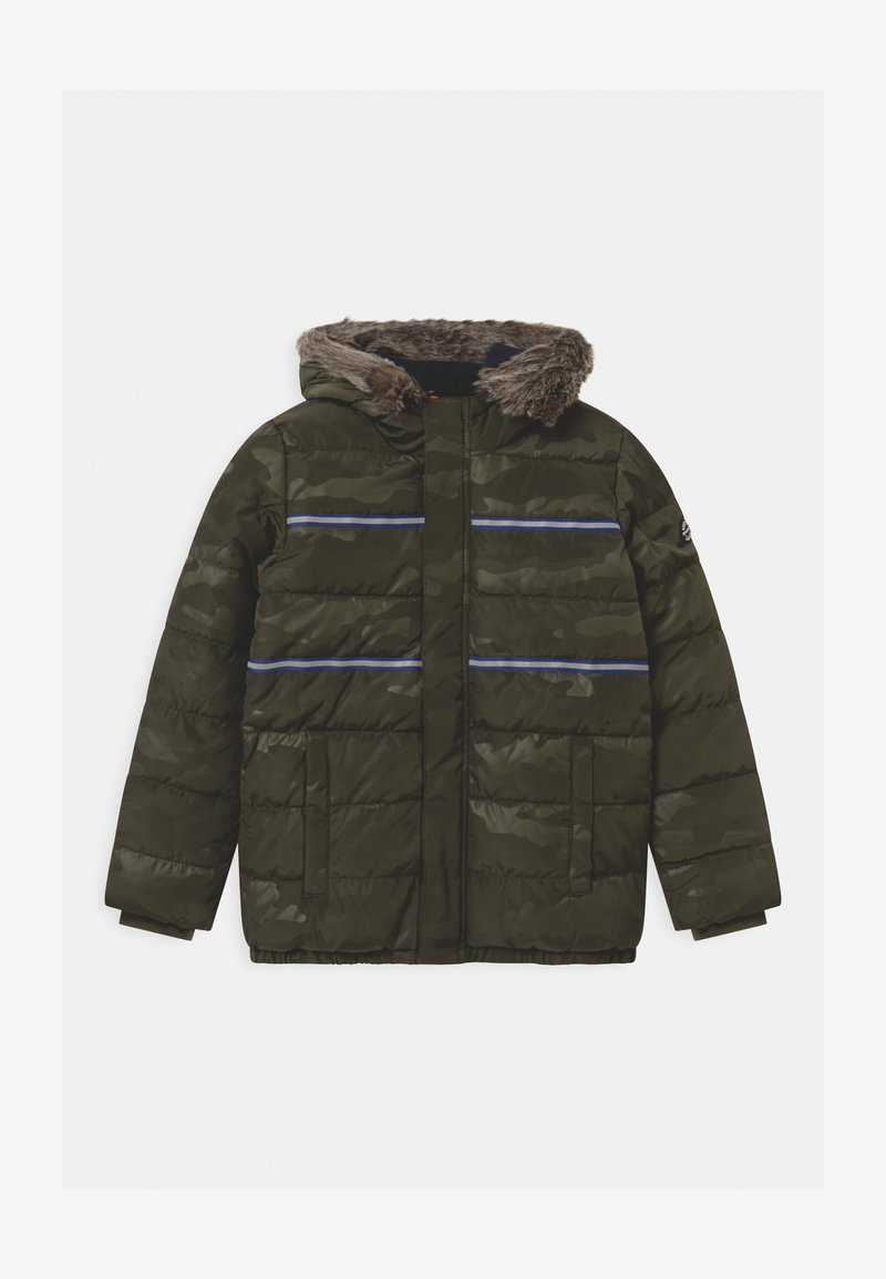 s.Oliver - Zimní bunda - khaki/oliv