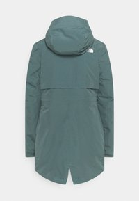 The North Face - HIKESTELLER INSULATED - Winter coat - balsam green/silver blue - 1