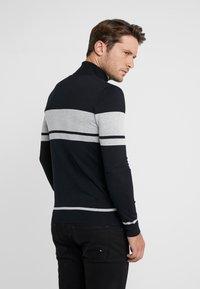 TOM TAILOR - FINE TURTLE NECK - Jumper - black/grey - 2