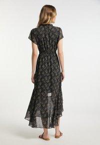 DreiMaster - Maxi dress - schwarz geblümt - 2
