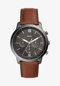Fossil - NEUTRA - Chronograph watch - braun - 1