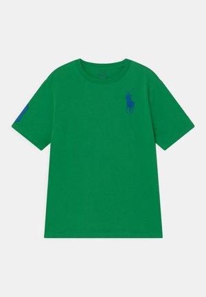 Print T-shirt - golf green