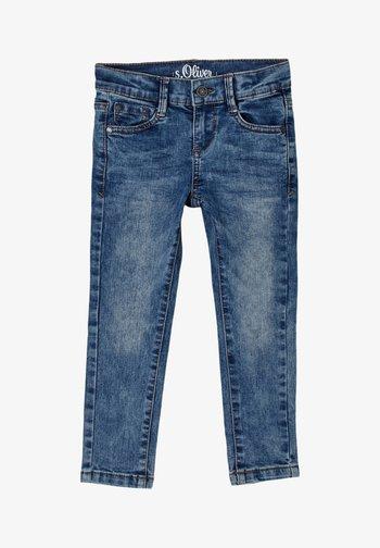 BROEKEN - Slim fit jeans - blue
