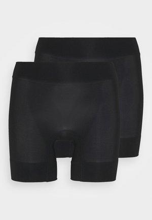 2 SHORT PACK - Shapewear - black