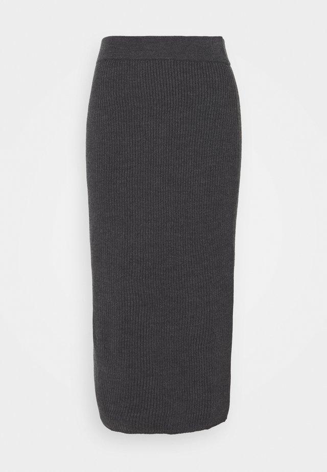 EMERSON - Falda de tubo - dunkelgrau
