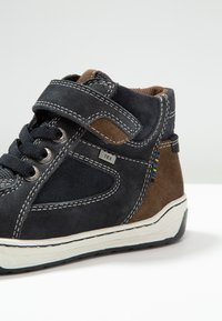 Lurchi - BARNEY-TEX - High-top trainers - atlantic/brown - 5