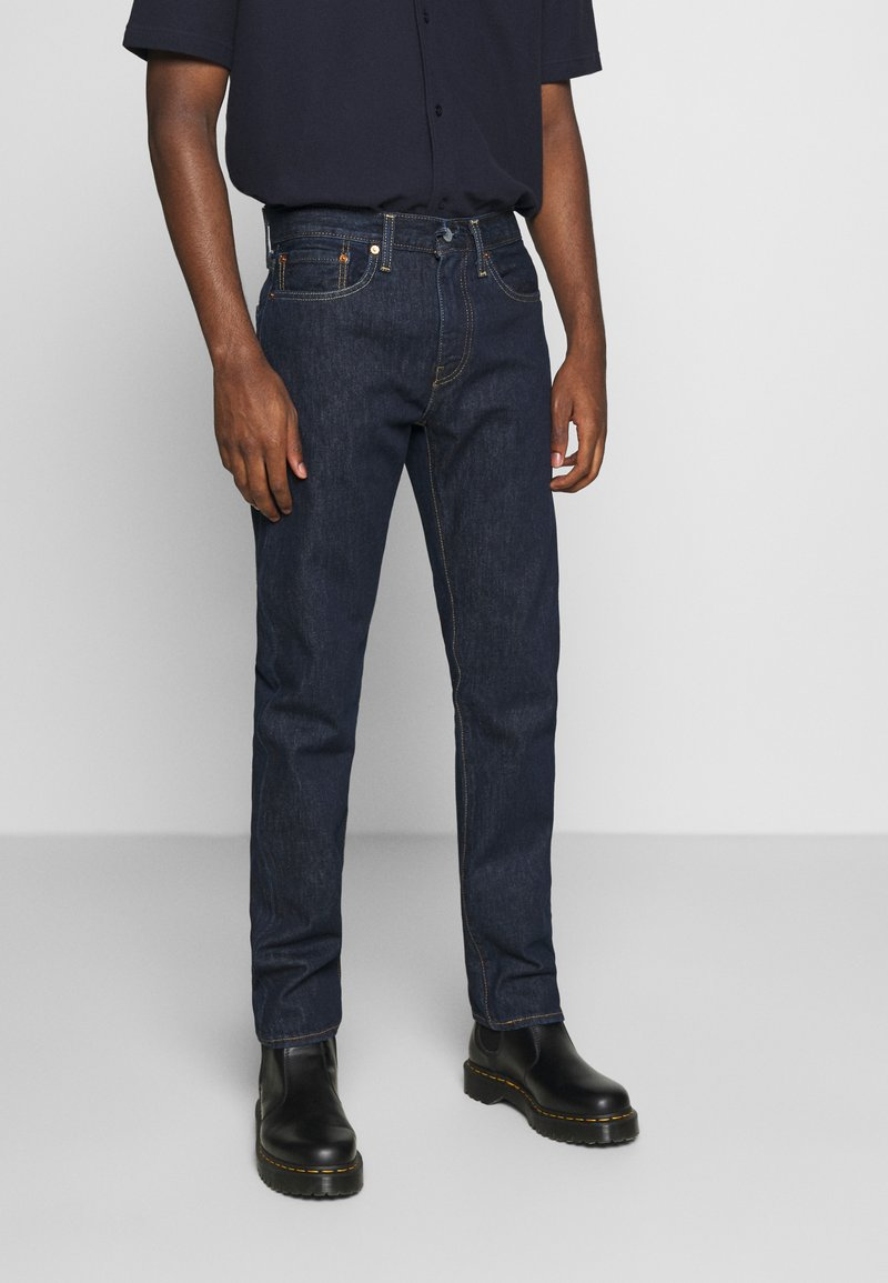 Levi's® - 502™ TAPER - Jeans Tapered Fit - dark indigo - flat finish
