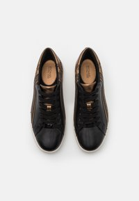 MICHAEL Michael Kors - SLADE LACE UP - Sneakers basse - black/bronze - 4