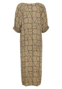 Soaked in Luxury - SLMONTOYA  - Day dress - love print ermine - 5