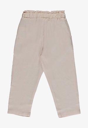 GABARDINE - Trousers - ecru