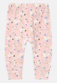 The Bonnie Mob - PALM HAREEM - Broek - white/pink - 1