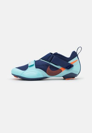 SUPERREP CYCLE - Cycling shoes - blue void/total orange/copa