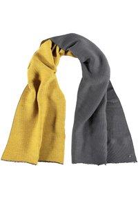 Fraas - Sjaal - grey/yellow - 1