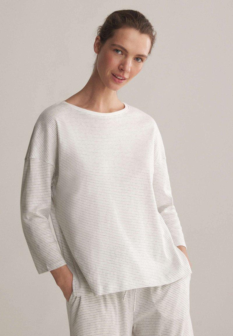 OYSHO - Pyjama top - white