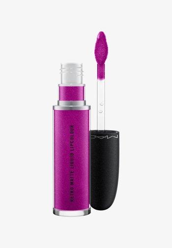 RETRO MATTE LIQUID LIPCOLOUR METALLICS - Liquid lipstick - atomized