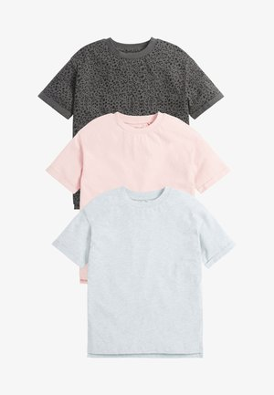 3 PACK - Basic T-shirt - grey