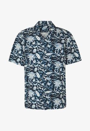 SHORT SLEEVE ISLAND SHIRT - Košile - banta navy blazer