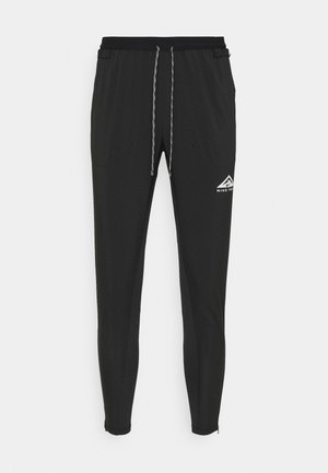ELITE PANT TRAIL - Pantalon de survêtement - black/white