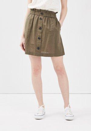 A-lijn rok - vert kaki
