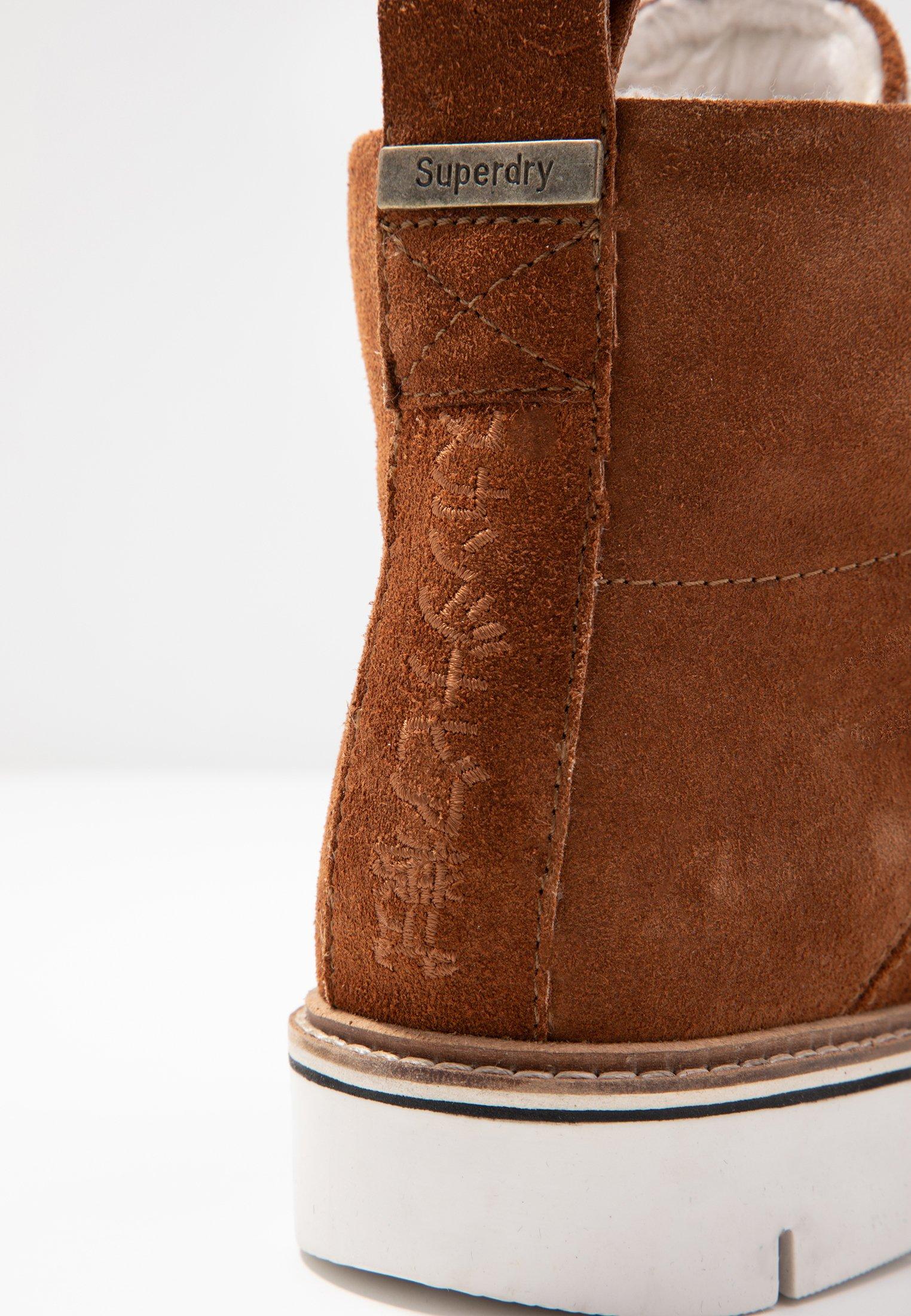 Superdry STUDIO HIKER  Ankle Boot caramel café/camel