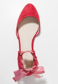 mint&berry - Ankle strap ballet pumps - red - 3